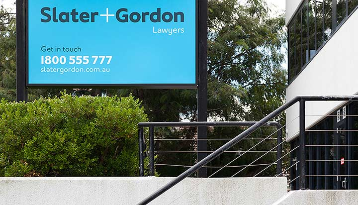 Slater and Gordon Lawyers Ashfield
